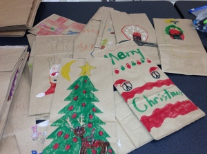 PTO2012 Holiday Shoppe sacks