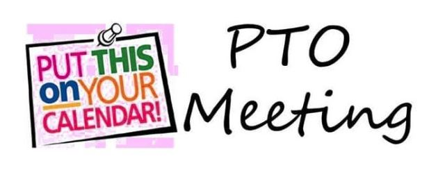 PTO meeting sign